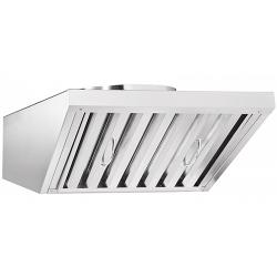 Зонт вентиляционный ЗВВ-600 для ПКА6-1/3П с верхней панелью управления (520х786х286 мм)