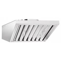 Зонт вентиляционный ЗВВ-700 для ПКА6-1/2П с верхней панелью управления (520х922х286 мм)
